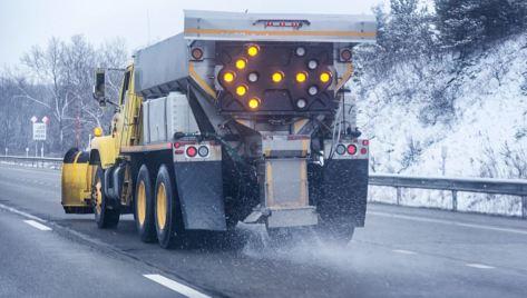 salting truck